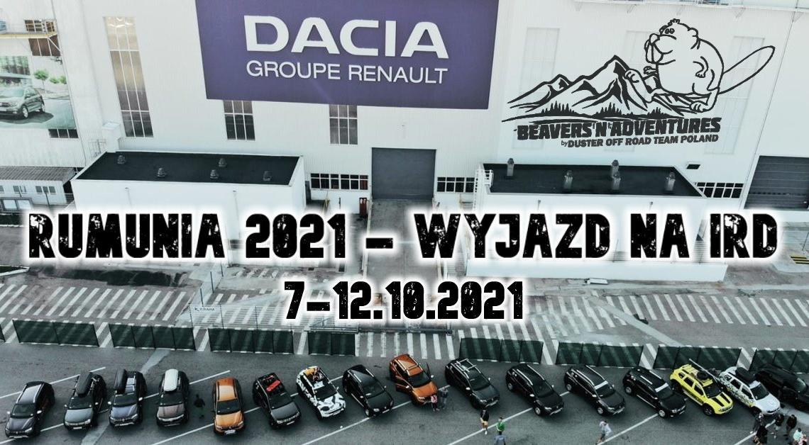 7-12.10.2021 Rumunia – wyjazd na IRD